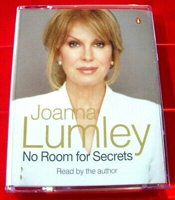 Joanna Lumley Reads No Room For Secrets 2-Tape Audio Entertainment Autobiography