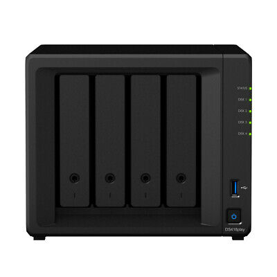 Synology Diskstation DS418play NAS 4-Bay 16TB inkl. 4x 4TB WD RED WD40EFRX