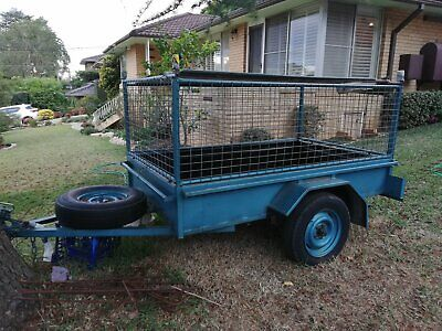7x4 trailer cage