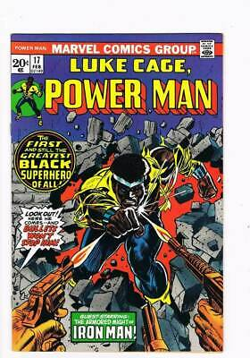 Power Man # 17  Look Out...Here he Comes !  grade 9.0 scarce book !