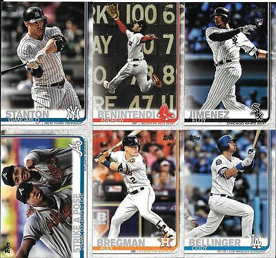 2019 Topps Series 2 Baseball You Pick/Choose Card #'s 501-700 **Free Shipping**