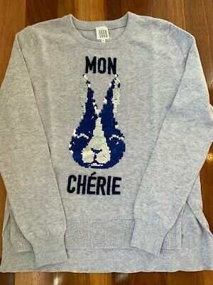 SEED TEED girls size 10 jumper - Mon Cherie