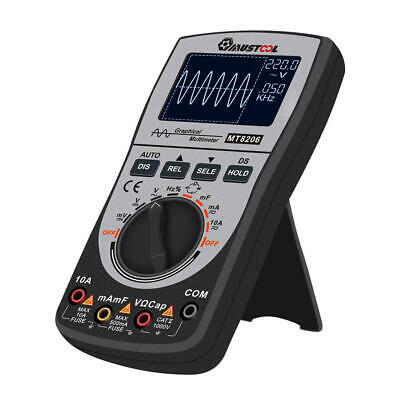 Oscilloscope Multimeter AC/DC Current Voltage Resistance Frequency Diode Tester