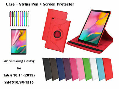 360 Rotate PU Leather Case Cover for Samsung Galaxy Tab A 10.1 (2019) T510 T515