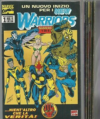 the new warriors  1/6 completa