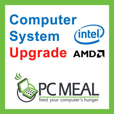 PCMeal Computer System CPU Upgrade to AMD Ryzen 7 2700X Max 3.8G 8Core From 2700