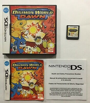 NINTENDO DIGIMON WORLD Dawn Game Card for 3DS NDSI DSI DS US
