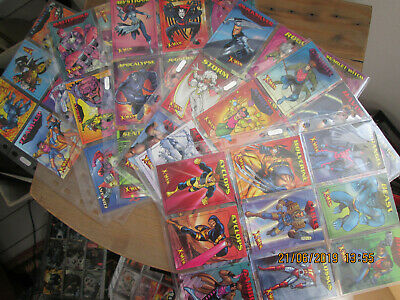 X Men Set Of 50 1997 Trading Cards By Marvel