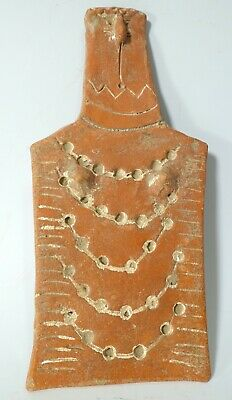 REPRO Early Bronze Age Cypriot Redware Red Ware Pottery Plank Idol God