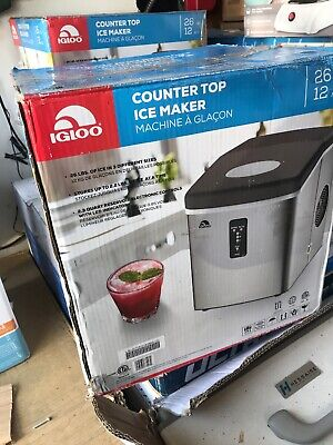 IGLOO ICE103 COUNTER Top Ice Maker - FOR PARTS OR REPAIR