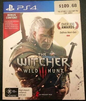The Witcher 3 Wild Hunt, Hard Cover Edition PS4