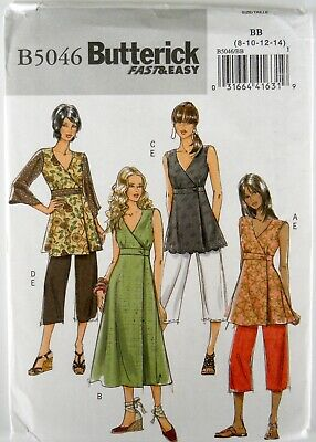 BUTTERICK PATTERN 6049 Dresses Misses Sizes 6 8 10 12 14