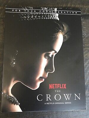 The Crown Complete Season 1 Dvd Netflix 2017 Fyc For Your Consideration