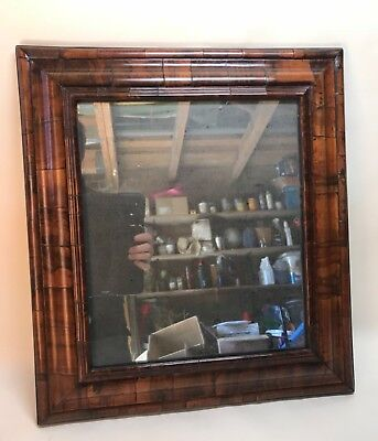 Very Rare Late 17th Early 18th Century English or Dutch Cushion Mirror 16th 19th