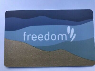 Freedom Gift Card - Value $943