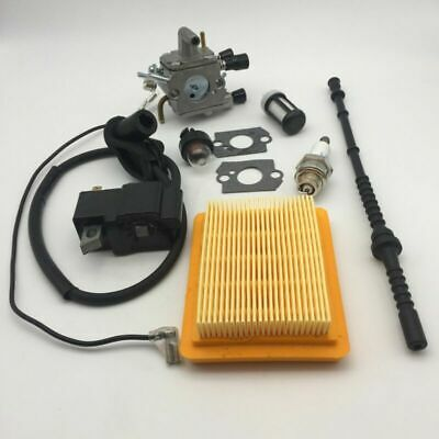 Carburateur Tune Up Kit pour Stihl FS120 FS200 FS250 FS300 Joint Filtre