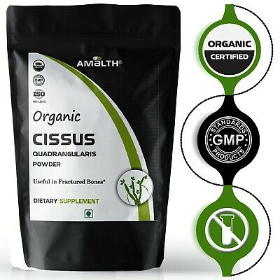 Organic Cissus Quadrangularis Powder Useful in Joint Pain HERBAL INDIAN Hadzod