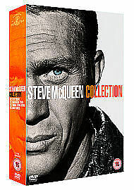 NEW SEALED Steve McQueen Collection Great Escape Magnificent Seven Thomas Crown