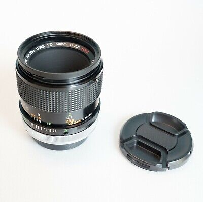 Canon FD 50mm Macro F/3.5 S.S.C. mit Extension Tube 25 - Guter Zustand