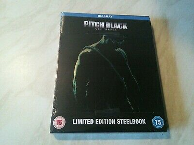 Pitch Black Blu-ray limited edition steelbook new & sealed + bonus features!!