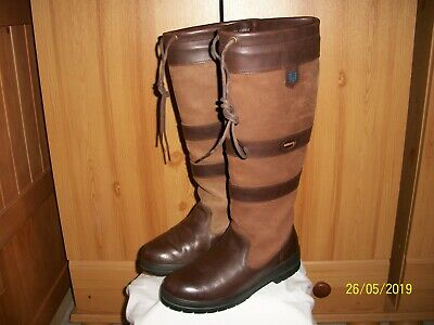 """4402a014223 DUBARRY """"GALWAY"""" GORE-TEX® Boots – Sz 4 (37) (Brown) Country knee High Boots"""