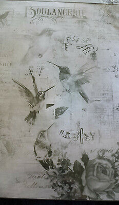 Decoupage A4 Paper 4 sheets - 2 sheets hummingbirds 2 sheets butterflies