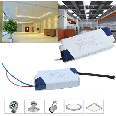 1-3W 4-7W 8-12W 12-18W 18-24W 36W Transformateur LED Light Driver Bloc