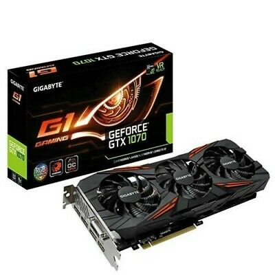 Gigabyte NVIDIA GeForce GTX 1070 G1 Gaming 8GB GDDR5 Boxed - 6 Months Use