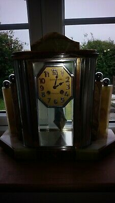 French Mantle Clock Art deco