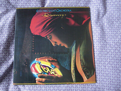Electric Light Orchestra ELO - Discovery 1979 Vinyl Record Poster 1970s