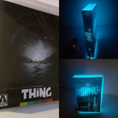 The Thing Bluray 4K + The Thing Neon VHS lamp