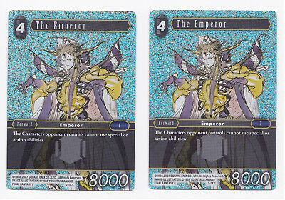 2x SP FOIL The Emperor 2-147L Opus 2 Final Fantasy TCG FFTCG