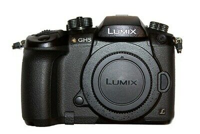 PANASONIC LUMIX GH5 4K Digital Camera, 20.3M Mirrorless Camera 5-Axis Dual I.S.