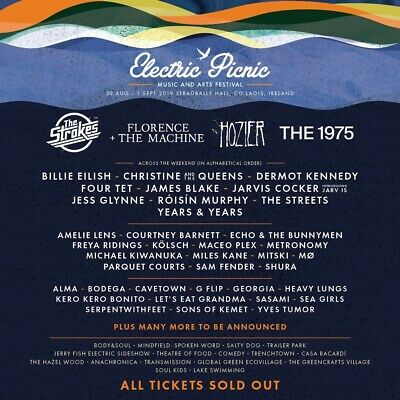 2 electric picnic tickets family **2 adults & 4 kids U12*