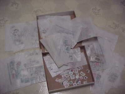 Large Lot of off paper US Used Stamps