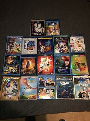 Over 50 Disney Movies For Sale!