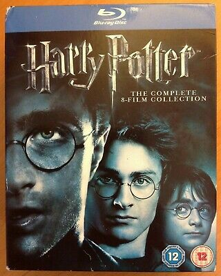 HARRY POTTER Complete 8-Film Collection (Blu-ray, 11-Disc) BOX SET