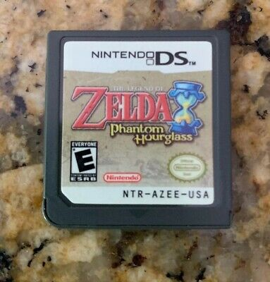The Legend of Zelda: Phantom Hourglass - Nintendo DS -Authentic - Cartridge Only