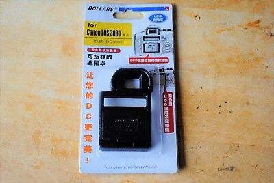 Canon Eos 300D Dslr Camera Lcd Hood And Screen Protector