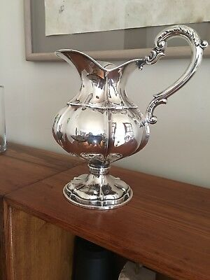 Spanish Silversmith  STERLING SILVER PITCHER  FOR WINE OR WATER 1030 gr