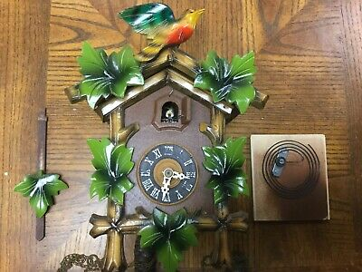 Vintage German Regula Cuckoo Wall Clock Black Forest