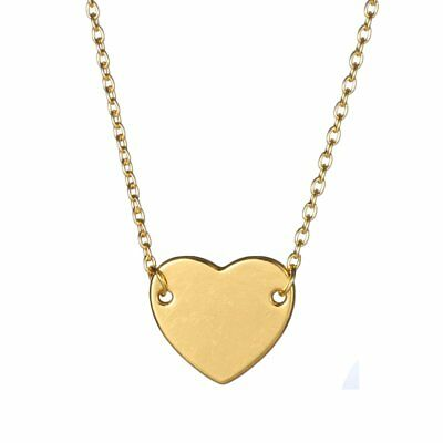 Glod Choker Heart Pendant Necklaces Lovers Party Valentine's Day Gift Jewlery