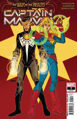 Captain Marvel (2019) #7 VF/NM War of the Realms Tie-In