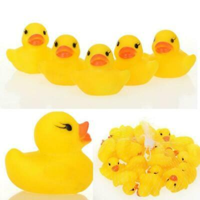 5 Yellow Rubber DUCKS Squeaky Bath Toys Water Play Toddler DUCK UK, wholesale al