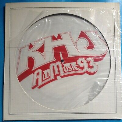 "Various-KhJ All Music 93- 12"" PIC DISC-1978 Columbia PROMO ONLY- M-./M- UNPLAYED"