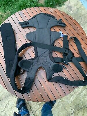 Mothercare 3 Position Baby Carrier - Black With Padded Straps