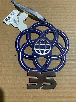 Disney Parks Epcot 35th Anniversary Christmas Holiday Ornament - New