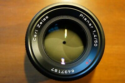 Carl Zeiss 50mm F1.4 Planar T* Contax Yashica Mount AEJ in excellent condition