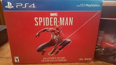 Marvel Spider-Man Collector's Edition Game for PS4 like New