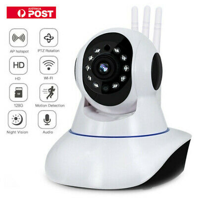 WiFi IP 1080P Camera Home Security Baby Monitor Clever Dog CCTV CAM Night Vision